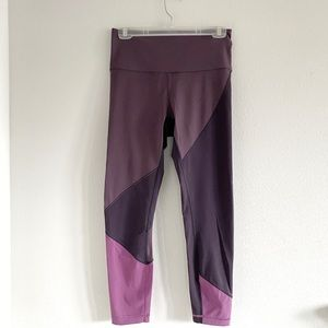 Lululemon Purple Panel Athletic Leggings Sz 6